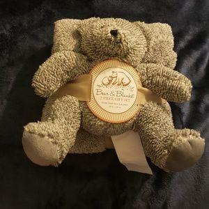 Bear and Blanket Gift Set